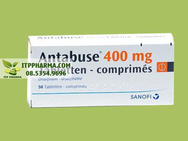 Thuốc Antabuse hàm lượng 400mg
