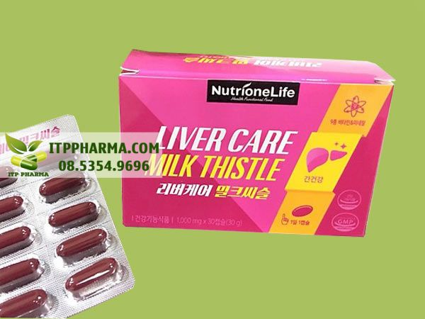 Bổ gan Milk Thistle Liver Care