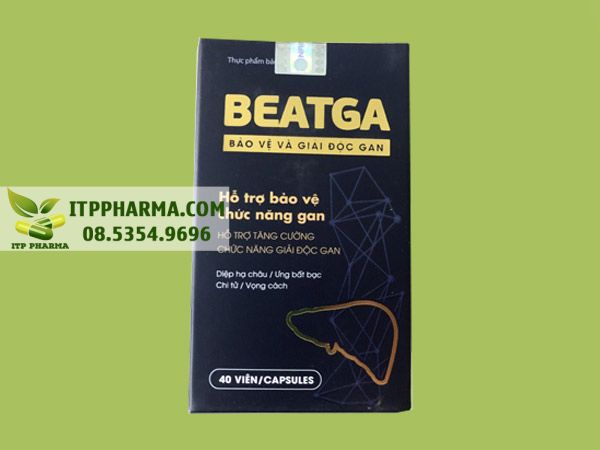 Thuốc mát gan Beatga