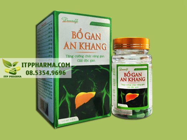 Thuốc bổ gan An Khang