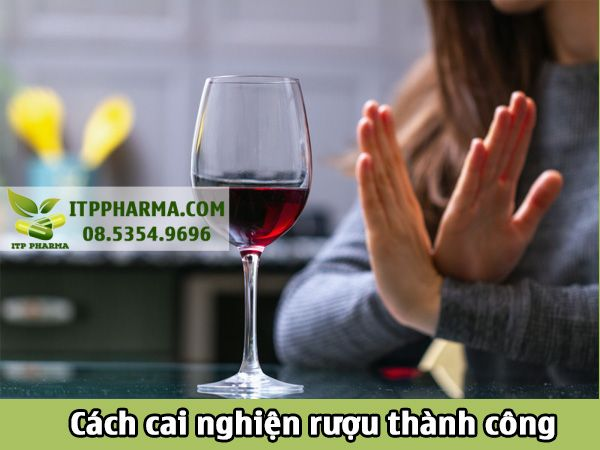 Cách cai nghiện rượu thành công