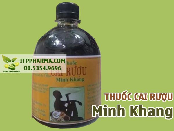Thuốc cai rượu Minh Khang