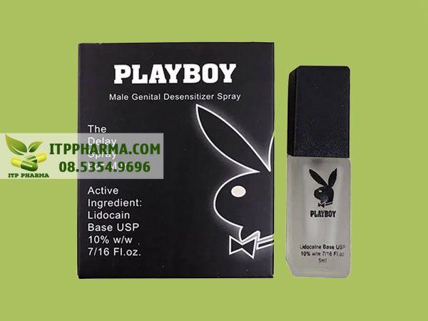 Chai xịt Playboy
