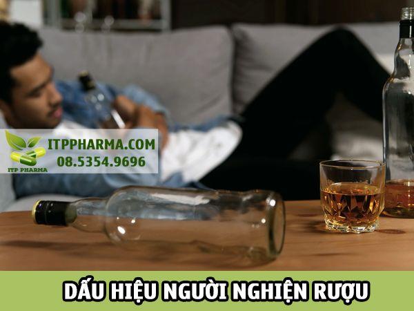 Dấu hiệu của người nghiện rượu