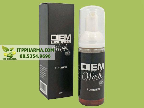 Dung dịch vệ sinh nam Diem Duroil Wash