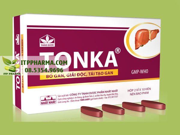 Thuốc bổ gan Tonka