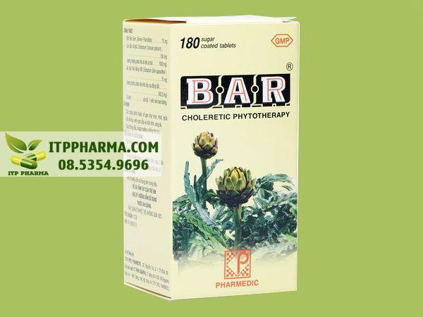 Thuốc lợi mật BAR