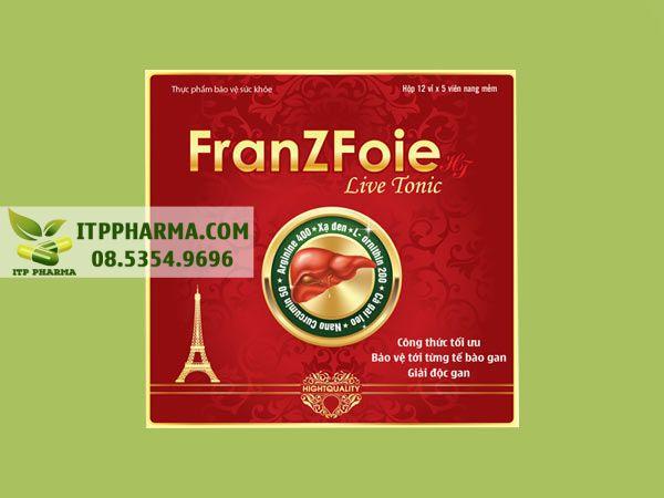 Thuốc mát gan FranZFoie