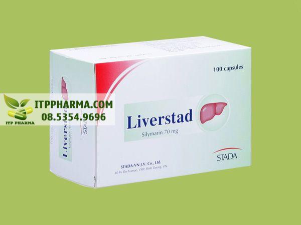 Thuốc mát gan giải độc Liverstad