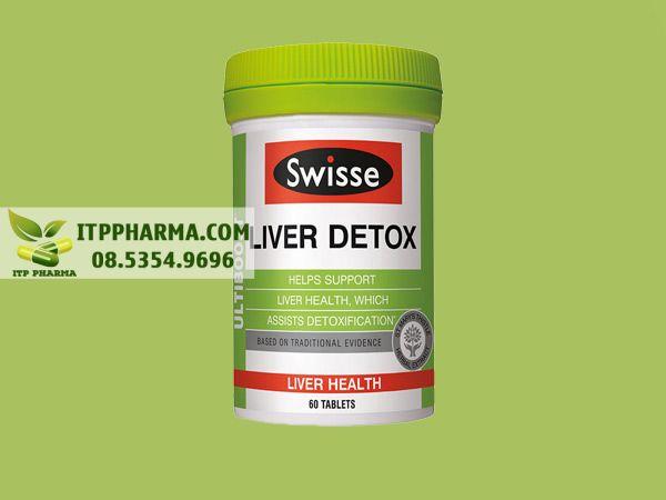 Thuốc mát gan Liver Detox