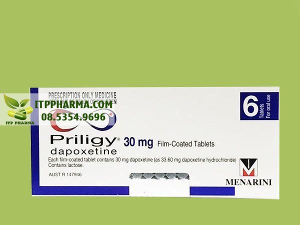 Thuốc điều trị xuất tinh sớm Priligy
