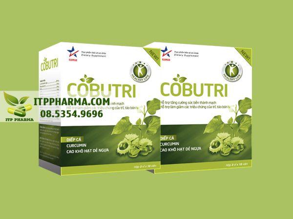 Cobutri cải thiện tình trạng đau rát cho bệnh nhân trĩ
