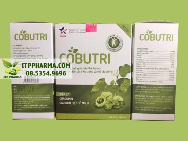 Cobutr với thành phần gồm các thảo dược thiên nhiên