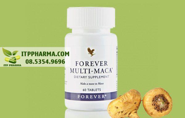 Forever Multi Maca có chứa thành phần sâm Maca