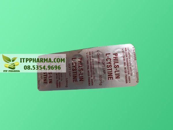 thuốc L-cystine 500mg dạng vỉ