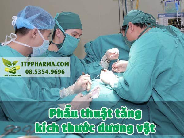 Phẫu thuật tăng kích thước dương vật