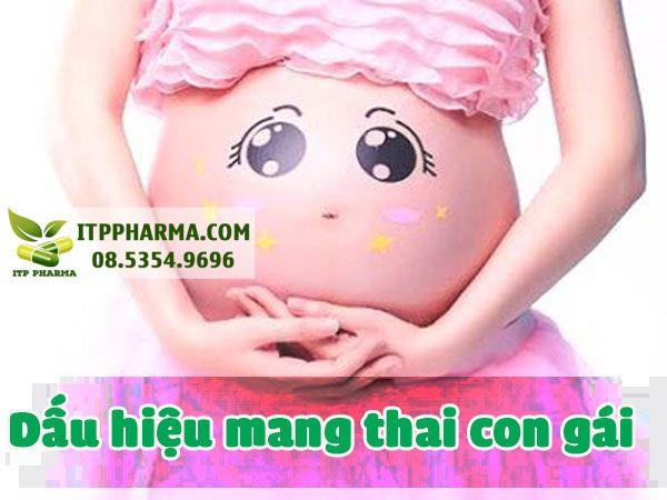 Dấu hiệu mang thai con gái