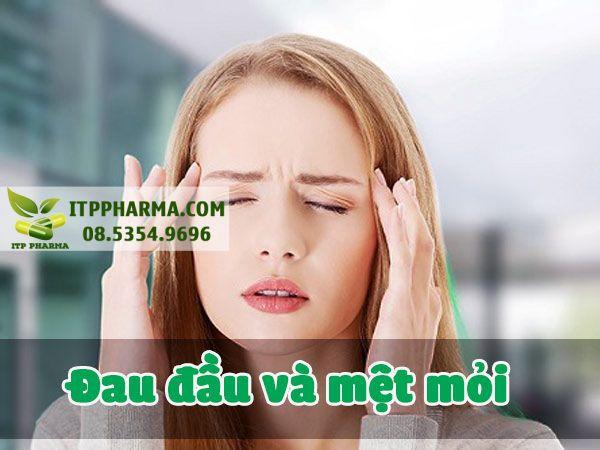 Dấu hiệu mang thai đau đầu