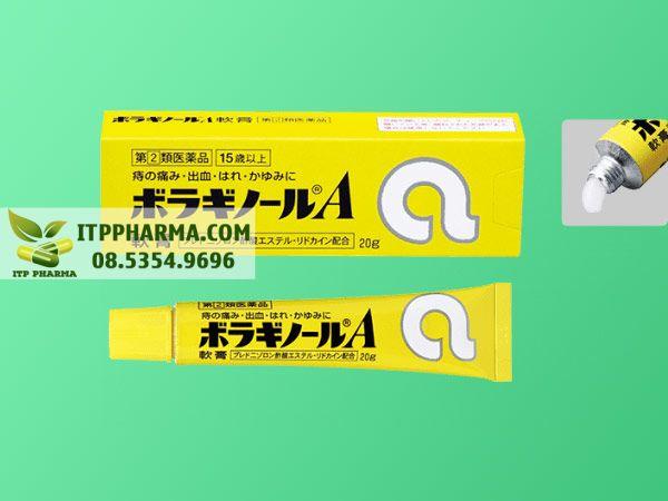 Kem bôi trĩ chữ A của Nhật