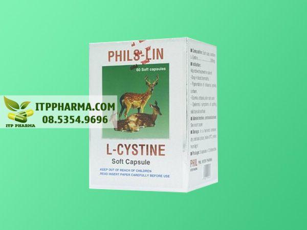 thuốc L-cystine 500mg mặt trước