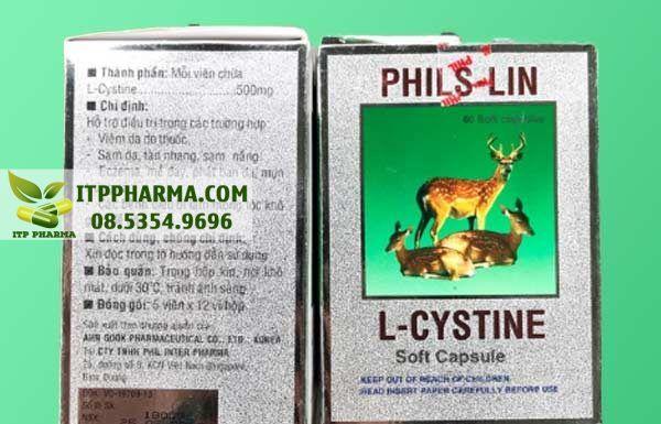 thuốc L-cystine 500mg dành cho người bị mụn