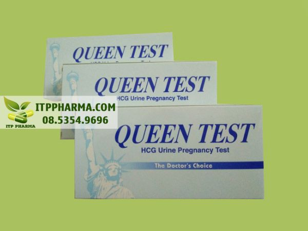 Que thử thai Queen test