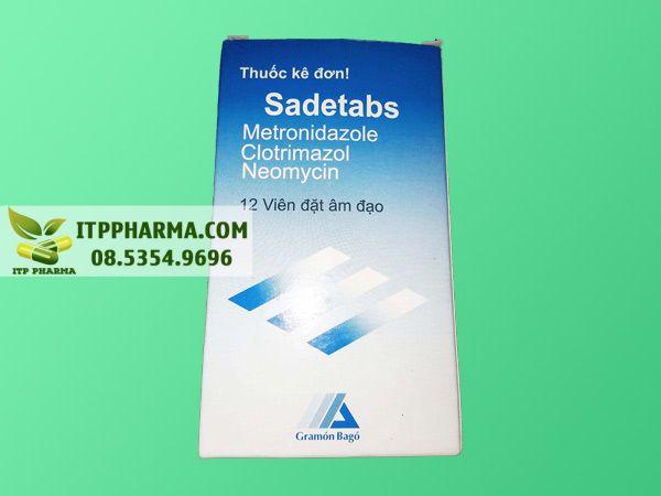 Thuốc Sadetabs dành cho phụ nữ