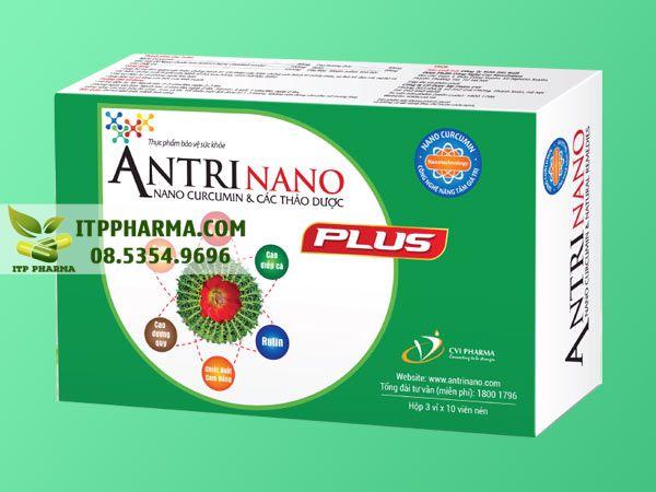 Thuốc điều trị bệnh trĩ Antrinano Plus