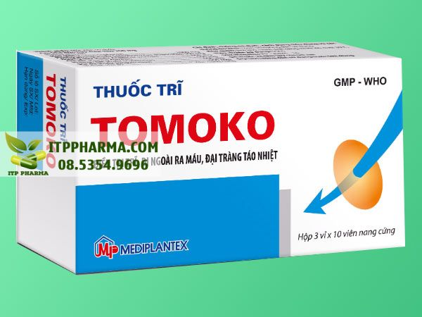 Thuốc điều trị bệnh trĩ Tomoko