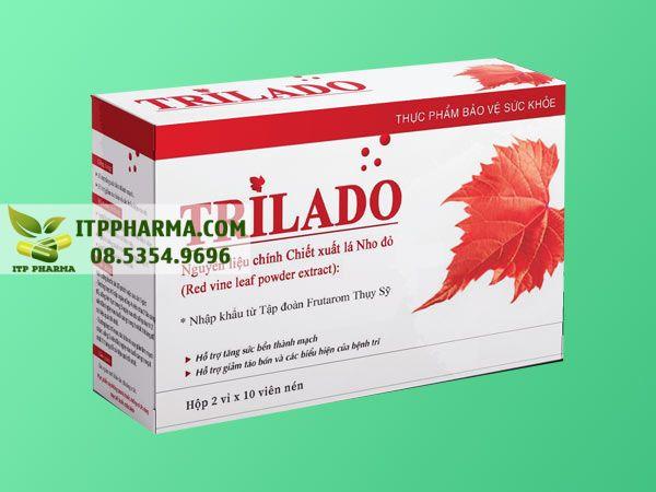Thuốc điều trị bệnh trĩ Trilado