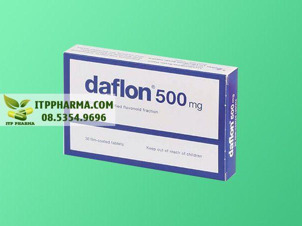 Thuốc điều trị bệnh trĩ Daflon 500mg