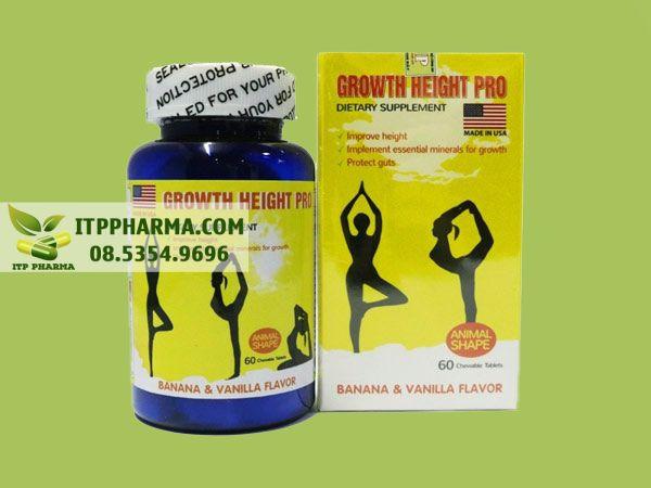 Thuốc tăng chiều cao Growth Height Pro