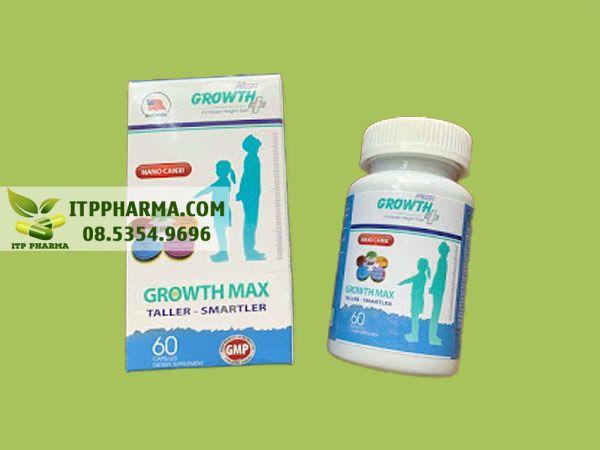 Thuốc tăng chiều cao Growth Max Plus