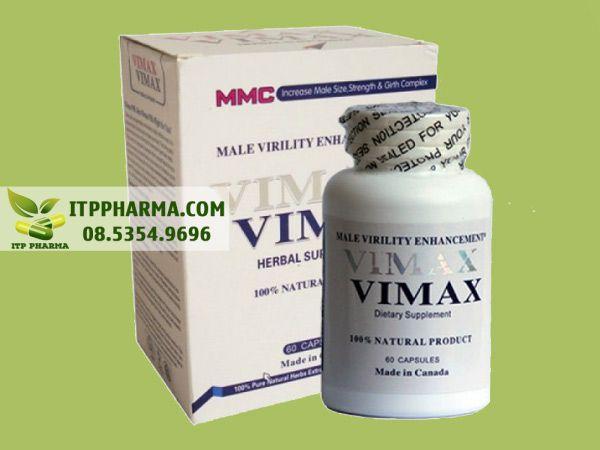 Thuốc tăng kích thước duơng vật Vimax Canada