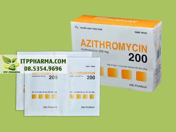 Thuốc Azithromycin200mg của DHG