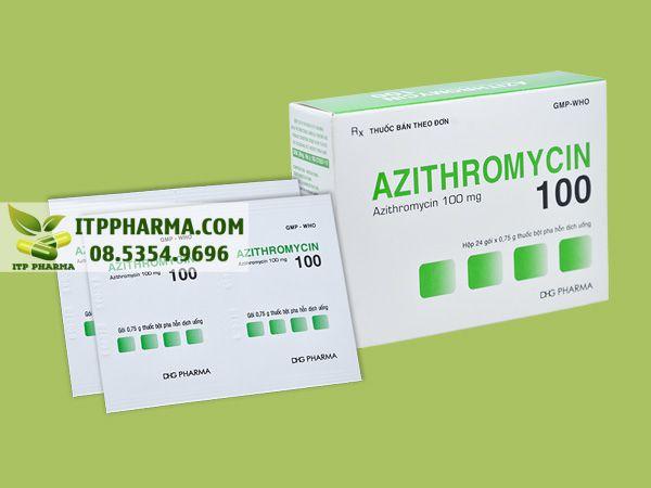 Thuốc Azithromycin 100mg của DHG