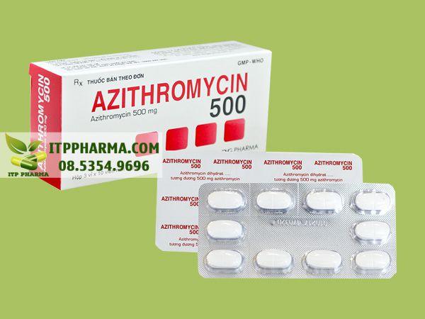 Thuốc Azithromycin 500mg của DHG
