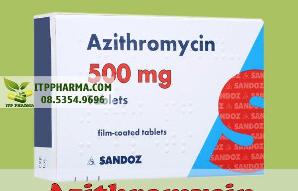 Kháng sinh Azithromycin