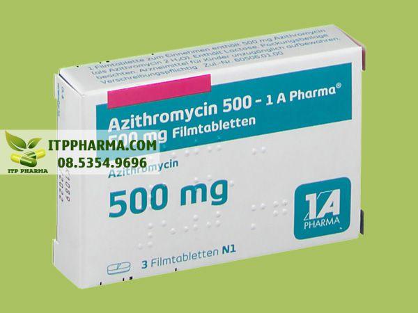 Thuốc Azithromycin 500mg của 1A Pharma