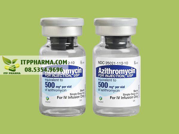 Thuốc Azithromycin dạng tiêm