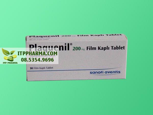 Thuốc Plaquenil 200mg mặt trước