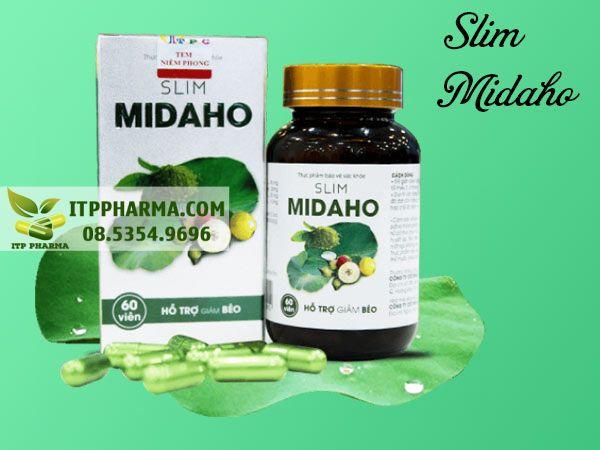 Hình ảnh Slim Midaho giúp giảm cân hiệu quả
