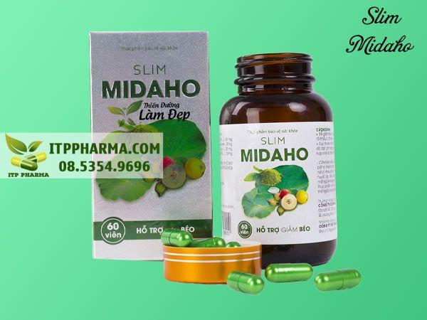 Slim Midaho được sử dụng dạng uống