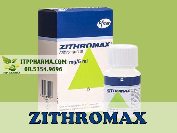 Thuốc Zithromax 200mg/5ml