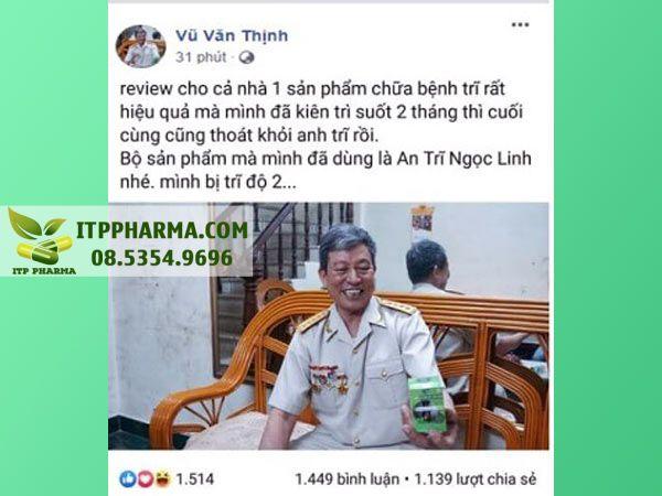 Phản hồi của người sử dụng Antri Ngọc Linh trên mạng xã hội
