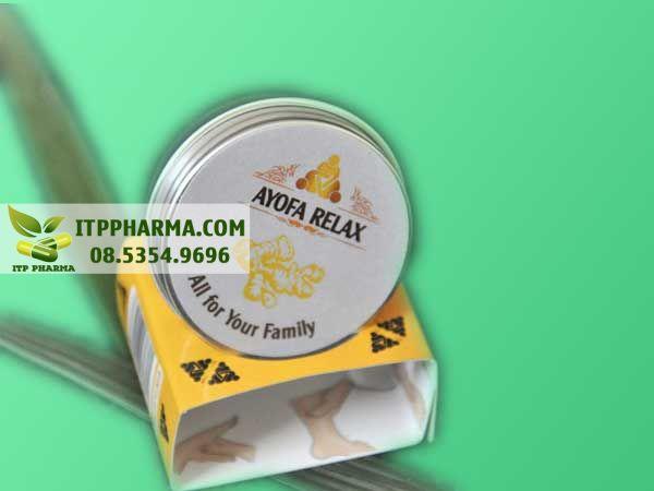 Cao Ayofa Relax không phải là thuốc và không có tác dụng thay thế thuốc chữ bệnh