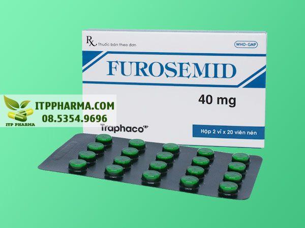 Thuốc lợi tiêu Furosemid