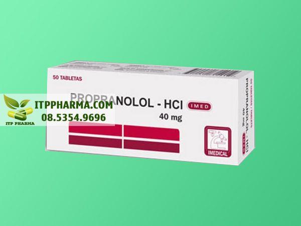 Thuốc ức chế beta Propanolol