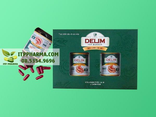 Hình ảnh hộp giảm cân Delim được nhiều người tin dùng