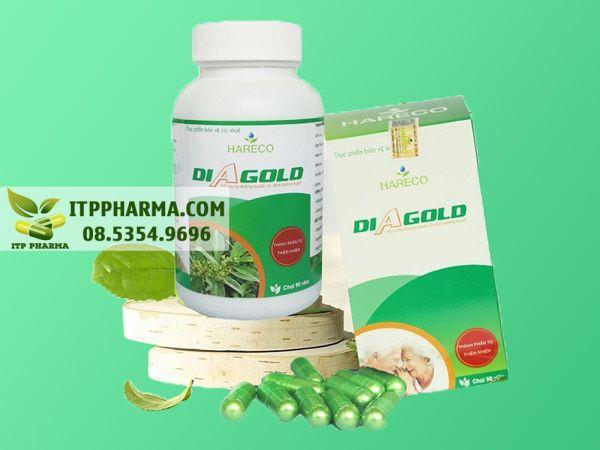 Diagold có tác dụng hiệu quả trên bệnh nhân tiểu đường